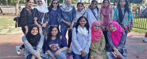 سمر سسٹرز سکالر شپ اور میرا سفر امریکہ ۔۔۔ شمامہ حسن
